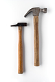 two used hammers isolated and shaded on white background - PhotoDune Item for Sale