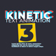 Kinetic Text Animation V3 - VideoHive Item for Sale