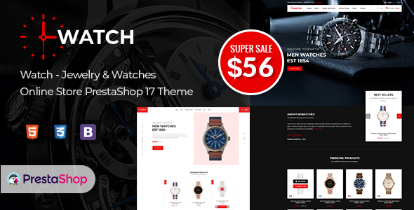 Watch - Multipurpose PrestaShop Theme