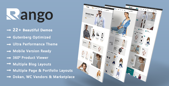 Rango | Elegant Fashion WooCommerce WordPress Theme