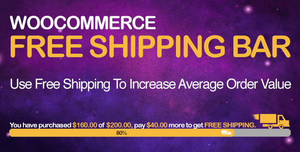 WooCommerce Free Shipping Bar - Increase Average Order Value Download