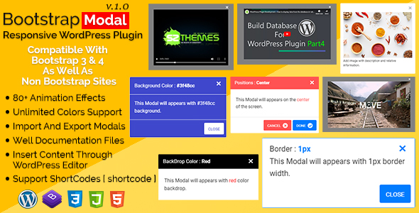 Bootstrap Modal Plugins, Code & Scripts from CodeCanyon