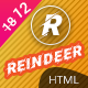 Reindeer | Multi-Purpose Landing Page HTML Template - ThemeForest Item for Sale