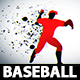 Energetic Baseball Intro - VideoHive Item for Sale