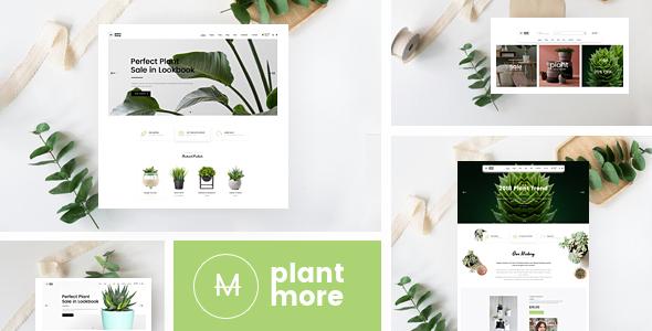Plantmore  - OpenCart Theme