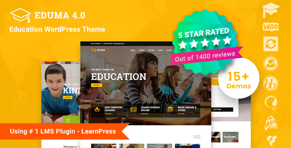 Download Education WordPress Theme | Education WP nulled 01 preview new