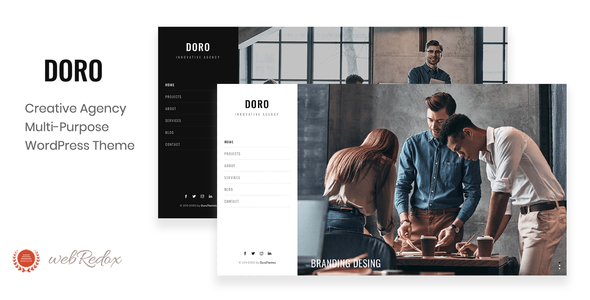 DORO - Creative Agency WordPress Theme