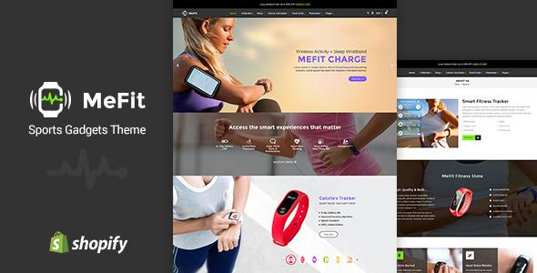 MeFit - Sports Gadgets Shopify Theme