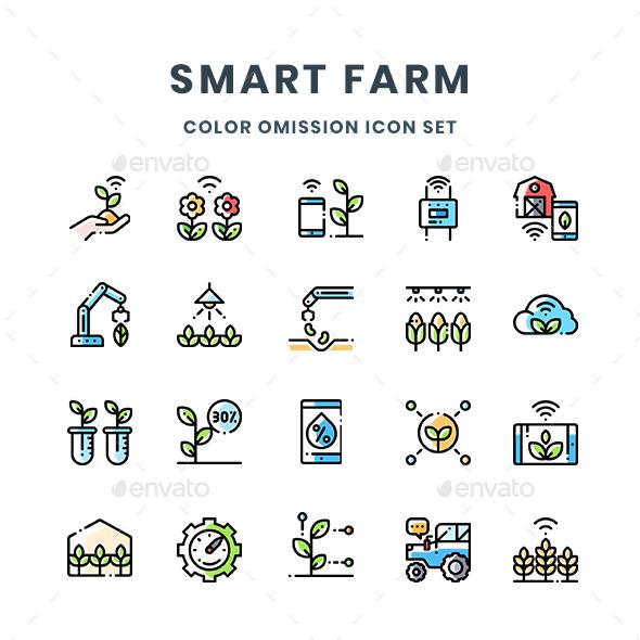 Smart Farm Icons