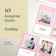 IG Story Wedding Wishes - 10 Templates - GraphicRiver Item for Sale