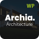 Archia - Architecture & Interior WordPress Theme - ThemeForest Item for Sale