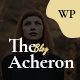 Acheron - Creative Blog WordPress Theme