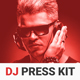Spektre - DJ Press Kit / DJ Resume / DJ Rider PSD Template - GraphicRiver Item for Sale