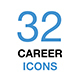 Business Career Icon Set - GraphicRiver Item for Sale