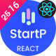StartP - React Next IT Startups and Digital Services Template + RTL
