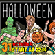 Halloween Costume Party Tickets - GraphicRiver Item for Sale