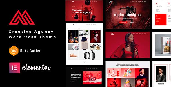 Manson - Creative Agency WordPress Theme