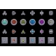 Celtic Symbols. Stone Coins and Square with Celtic - GraphicRiver Item for Sale