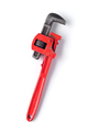 used pipe wrench isolated on white background - PhotoDune Item for Sale