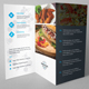 Fast Food Trifold Brochure - GraphicRiver Item for Sale