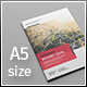 A5 Infographic Report - GraphicRiver Item for Sale