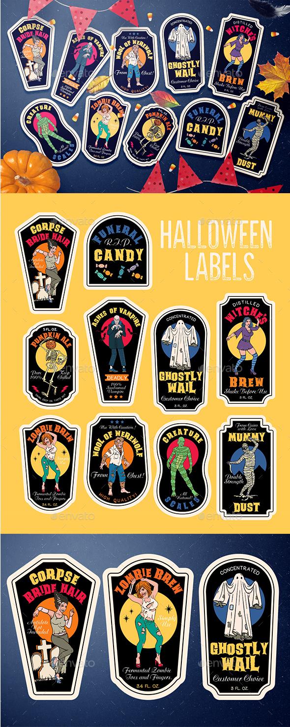 Poisons Bottle of Halloween
