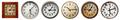 Set of old wall clocks - PhotoDune Item for Sale