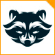Raccoon Logo - GraphicRiver Item for Sale