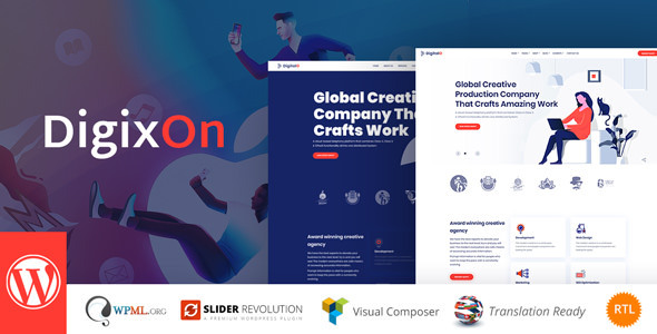 Digixon - Digital Marketing Strategy Consulting WP Theme