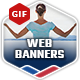 Professional GIF Banners - GraphicRiver Item for Sale