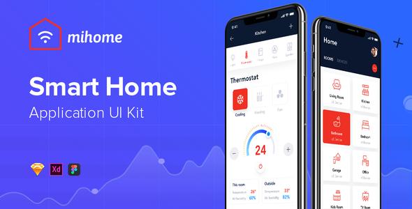 MIHOME - Smart Home UI Kit - Crack Theme - Download Free