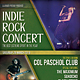 Indie Rock Concert Flyer / Poster - GraphicRiver Item for Sale