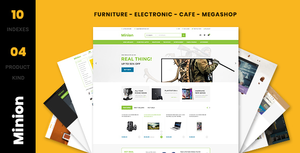 Minion - Multi-store Responsive Shopify Theme