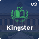 Kingster - LMS Education For University, College and School - ThemeForest Item for Sale