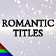 Romantic Titles - VideoHive Item for Sale