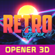 Retro Opener 3D - VideoHive Item for Sale