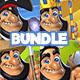 Bundle of 4 Game Art Packs - GraphicRiver Item for Sale