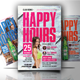 Happy Hour Offers Flyer - GraphicRiver Item for Sale