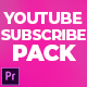 YouTube Subscribe & Like Pack - VideoHive Item for Sale