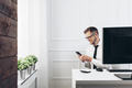 Successful businessman working in his office - PhotoDune Item for Sale