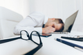 Tired businessman from heavy workload - PhotoDune Item for Sale