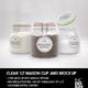 Clear 1Liter Mason Clip Jar Packaging Mockup - GraphicRiver Item for Sale