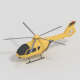 Low Poly Helicopter - 3DOcean Item for Sale
