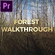 Forest Walkthrough (Mogrt) - VideoHive Item for Sale