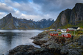 Norwegian Fishing village, Hamnoy island, Reine, Lofoten, Northern Norway - PhotoDune Item for Sale