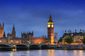 Big Ben and House of Parliament, London, UK, in the dusk evening - PhotoDune Item for Sale