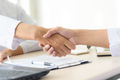 Business people shaking hands, partnership merger and acquisition concept - PhotoDune Item for Sale