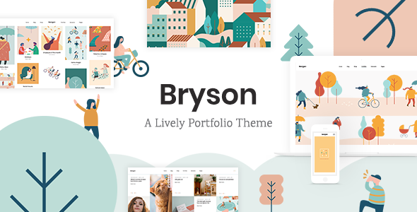 Bryson - Illustration and Design Portfolio Theme