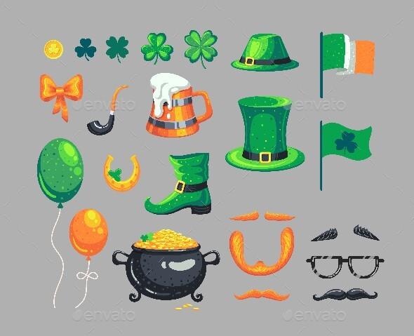 Set of St. Patrick's Day Symbols
