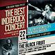 Indie Rock Concert Flyer / Poster - GraphicRiver Item for Sale